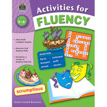 TCR8052 - Activities For Fluency Gr 5-6 in Activities