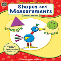 TCR8106 - Gr Pk-K Early Math Skills Shapes & Measurements in Math