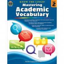TCR8132 - Know The Lingo Gr 2 Mastering Academic Vocabulary in Vocabulary Skills
