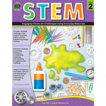 TCR8182 - Stem Using Everyday Materials Gr 2 Engaging Hands-On Challenges in Activity Books & Kits