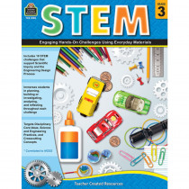 TCR8183 - Stem Using Everyday Materials Gr 3 Engaging Hands-On Challenges in Activity Books & Kits