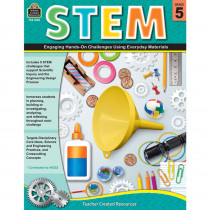 TCR8185 - Stem Using Everyday Materials Gr 5 Engaging Hands-On Challenges in Activity Books & Kits