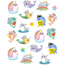 TCR8198 - Narwhals Stickers in Stickers