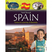 TCR8286 - Travel Through Spain Gr 3Up in Geography