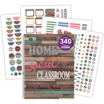 TCR8294 - Home Sweet Classroom Lesson Planner in Plan & Record Books