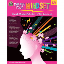 Change Your Mindset: Growth Mindset Activities for the Classroom (Grade 1-2) - TCR8309 | Teacher Created Resources | Classroom Activities