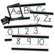 Modern Farmhouse Alphabet Line Bulletin Board - TCR8338 | Teacher Created Resources | Alphabet Lines