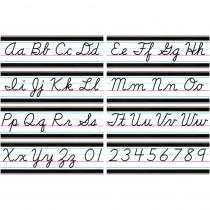 Modern Farmhouse Cursive Writing Bulletin Board - TCR8507 | Teacher Created Resources | Alphabet Lines