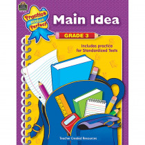 TCR8643 - Main Idea Gr 3 Practice Makes Perfect in Language Arts