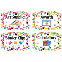 TCR8751 - Confetti Supply Labels in Accessories