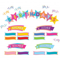 TCR8755 - Happy Birthday Mini Bb St Colorful Vibes in Classroom Theme