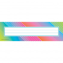 TCR8782 - Colorful Vibes Name Plates in Name Plates