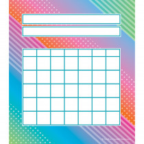 TCR8784 - Colorful Vibes Incentive Charts in Classroom Theme