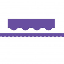 TCR8791 - Ultra Purple Scalloped Border Trim in Border/trimmer