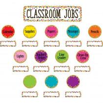 TCR8802 - Confetti Classroom Jobs Mini Bb St in Classroom Theme