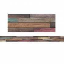 TCR8838 - Reclaimed Wood Border Trim Home Sweet Classroom in Border/trimmer