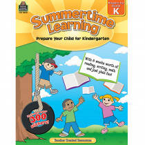 TCR8840 - Summertime Learning Gr K in Skill Builders