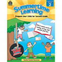 TCR8842 - Summertime Learning Gr 2 in Skill Builders
