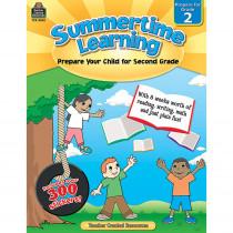TCR8842 - Summertime Learning Gr 2 in Skill Builders