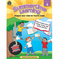 TCR8844 - Summertime Learning Gr 4 in Skill Builders