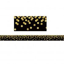 TCR8880 - Black Confetti Straight Border Trim in Border/trimmer