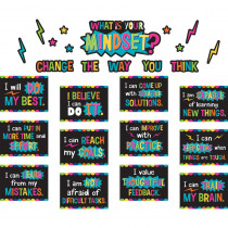 TCR8882 - What Is Your Mindset Bulletin Board in Motivational