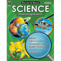 TCR8963 - Standard Based Gr 3 Science Investigation in Activity Books & Kits