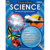 TCR8965 - Standard Based Gr 5 Science Investigation in Activity Books & Kits