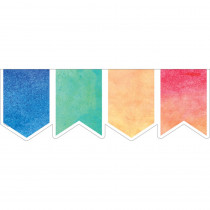 TCR8981 - Watercolor Pennants Big Big Border in Border/trimmer