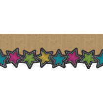 TCR8983 - Chalkboard Burlap Big Big Border in Border/trimmer