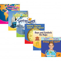 TCR945322 - Little World Geography Books Set Of All 6 in Geography