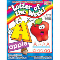 TF-1432 - Letter Of The Week Gr Pk-1 in Letter Recognition