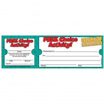 TF-1618 - Free Choice Activity Ticket Awards in Tickets