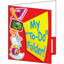 TF-1730 - Pocket Folder My To Do Folder 8-1/2 X 11 Plastic-Coated in Folders