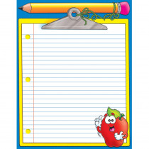 TF-2165 - Clipboard Friendly Chart in Classroom Theme