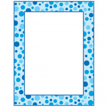 TF-3564 - Blue Polka Dots Printer Paper in Design Paper/computer Paper