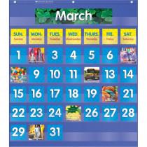 TF-5101 - Monthly Calendar Pocket Chart Gr K-5 in Pocket Charts