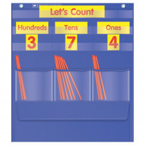 TF-5105 - Counting Caddie And Place Value Pocket Chart Gr K-3 in Pocket Charts