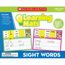 TF-7106 - Sight Words Learning Mats in Sight Words