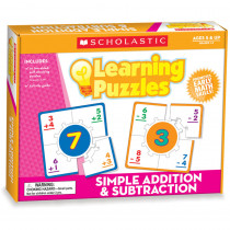 TF-7157 - Learning Puzzles Simple Addition & Subtraction in Math
