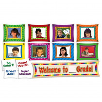 TF-8054 - Mini Bulletin Board Set Welcome To _ Gr in Miscellaneous