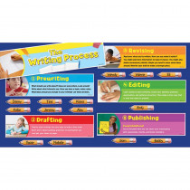 TF-8085 - Writing Process Mini Bulletin Board Set in Language Arts