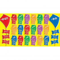 TF-8089 - Word Families Kites Mini Bulletin Board Set in Language Arts