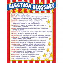 TF-8228 - Election Glossary Chart in Social Studies