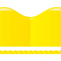 TF-8297 - Shades Of Yellow Scalloped Trimmer in Border/trimmer