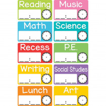 TOP10448 - Magnetic Schedule Cards in Classroom Management