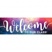 TOP10598 - Magnetic Welcome Banner Galaxy Script in Banners
