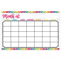 "Magnetic Write & Wipe DIY Magnetic Calendar, 12 x 18"" - TOP10613 