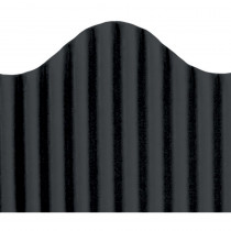 TOP21001 - Corrugated Border Black in Bordette