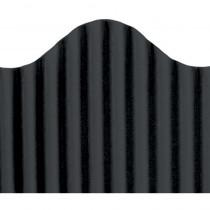 TOP21001 - Corrugated Border Black in Bordette